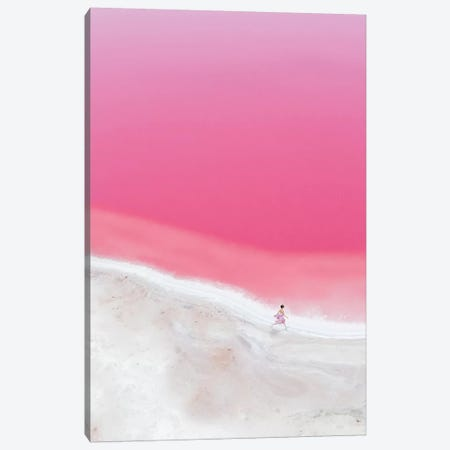 The Pink Mood In Hutt Lagoon I Canvas Print #MKV168} by Hobopeeba Canvas Art
