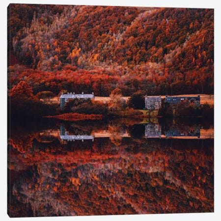 Autumn In Lake District National Park Canvas Print #MKV169} by Hobopeeba Canvas Wall Art