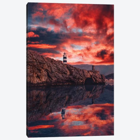 Mallorca, Soller Canvas Print #MKV171} by Hobopeeba Canvas Print
