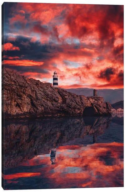 Mallorca, Soller Canvas Art Print