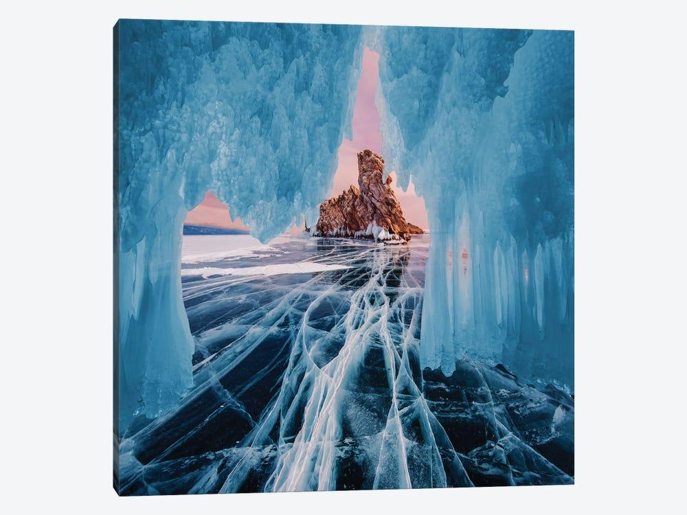 Frozen Lake Baikal I Canvas Art By Hobopeeba Icanvas