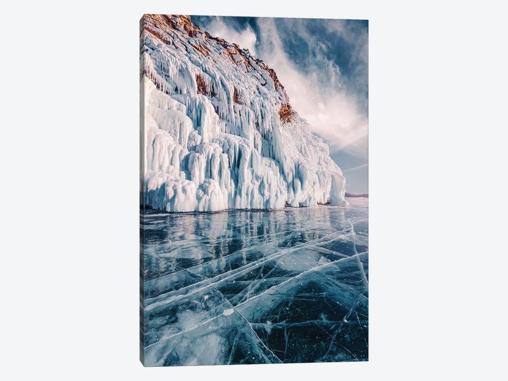 Frozen Lake Baikal II by Hobopeeba 1-piece Canvas Art Print
