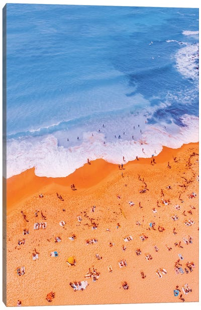 Ocean From Above As A Painting X Canvas Art Print