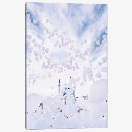 Bubble Mosque Canvas Print #MKV18} by Hobopeeba Canvas Art