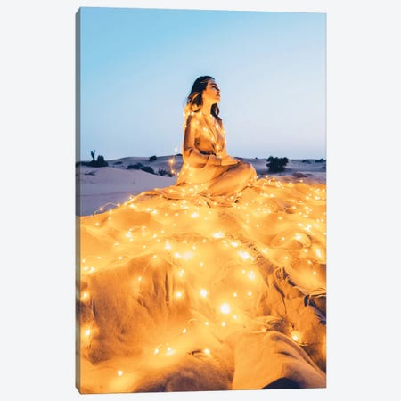 Desert Star Canvas Print #MKV24} by Hobopeeba Canvas Art
