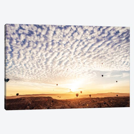 Fly Towards The Clouds Canvas Print #MKV32} by Hobopeeba Canvas Wall Art