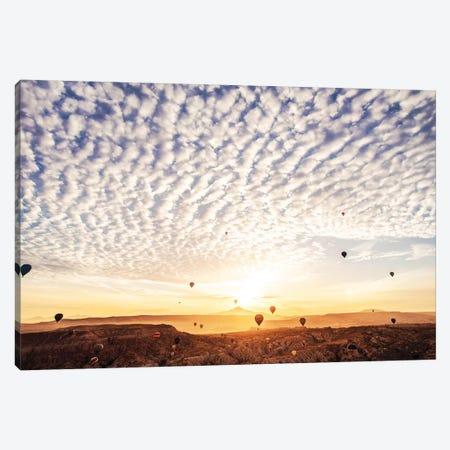 Fly Towards The Clouds Canvas Print #MKV32} by Hobopeeba Canvas Wall Art