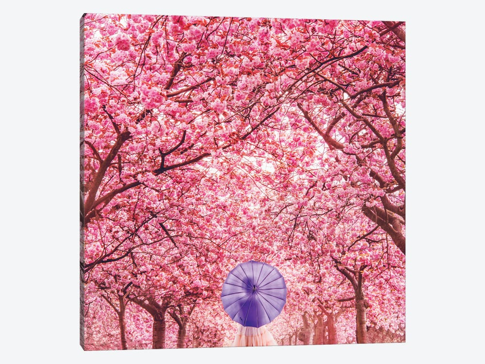 Hanami Season by Hobopeeba 1-piece Canvas Artwork