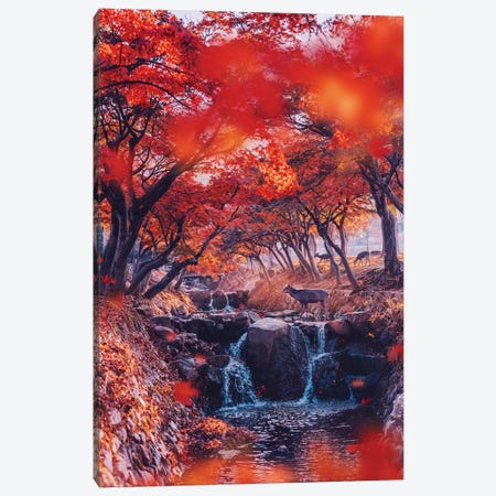 Heaven. Momiji Season Canvas Print #MKV38} by Hobopeeba Canvas Artwork
