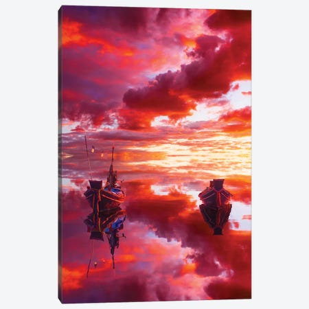 If We Do Not Create Today, Who Will Inspire Tomorrow Canvas Print #MKV44} by Hobopeeba Canvas Art