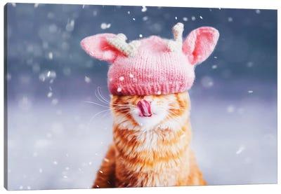 Kotleta's Snowfall Canvas Art Print