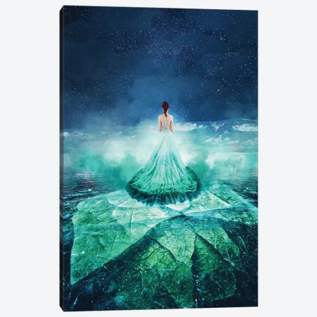 Live On Lake Baikal Canvas Print #MKV53} by Hobopeeba Canvas Art