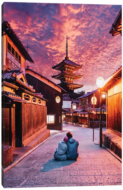 Lost In Kyoto Canvas Art Print
