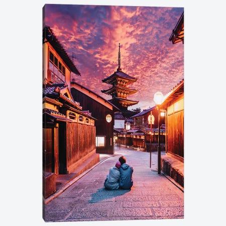 Lost In Kyoto Canvas Print #MKV54} by Hobopeeba Art Print