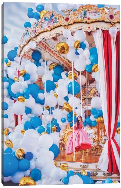 Moscow Carousel Canvas Art Print