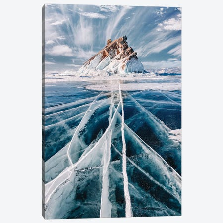 Siberian Winter 3-Piece Canvas #MKV90} by Hobopeeba Canvas Art