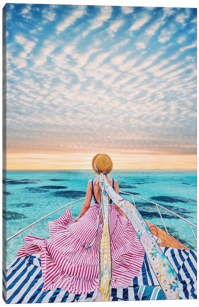 Stripe Cruise Canvas Art Print