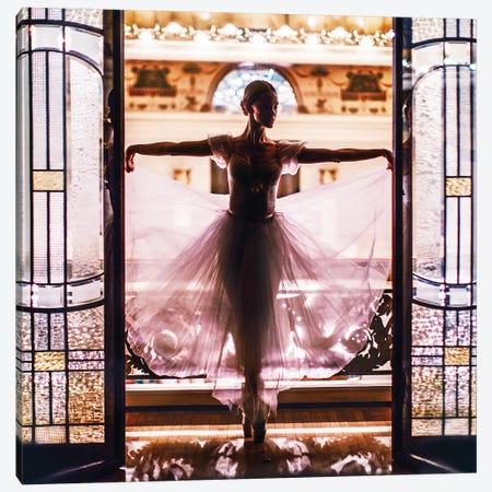 Ballet Is A Magic Fairytale Canvas Print #MKV9} by Hobopeeba Canvas Artwork