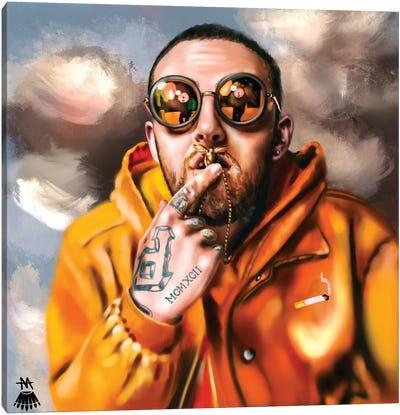 Mac Miller / Divine Canvas Art Print