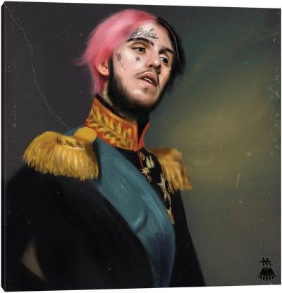 Lil Peep / Renaissance Canvas Art Print