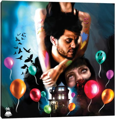 The Weeknd / House Of Balloons Canvas Art Print