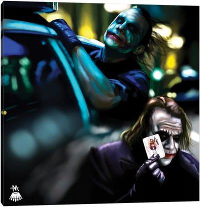 Joker / Dark Knight Canvas Art Print