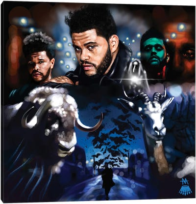 The Weeknd / Call Out My Name Canvas Art Print