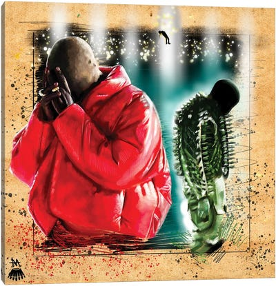 Kanye West / Donda Canvas Art Print