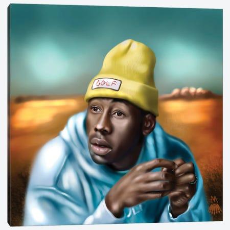 Tyler, The Creator / Cherry Bomb Canvas Print #MKY3} by Mikey Camarda Canvas Art Print