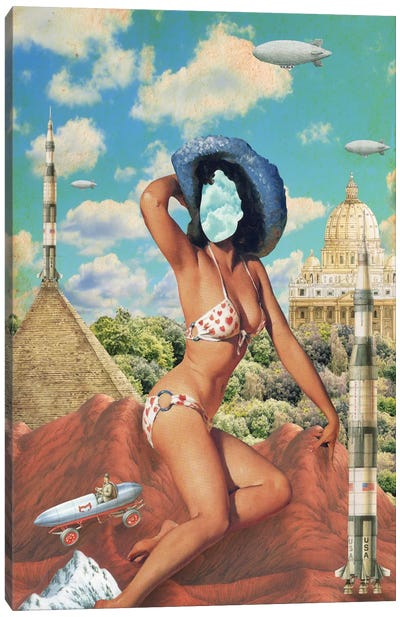 Pinup #5 Canvas Art Print
