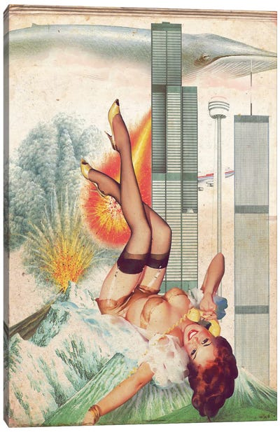 Pinup #7 Canvas Art Print