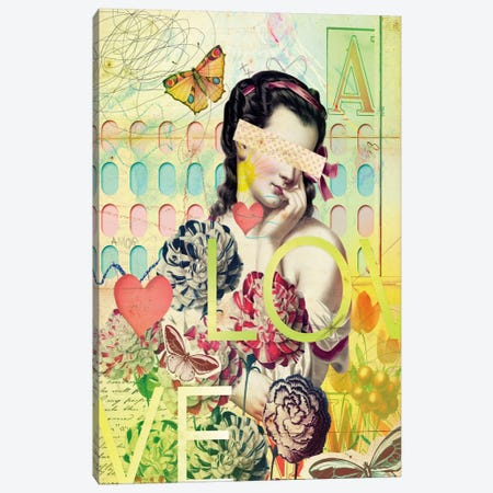 She Canvas Print #MLA20} by Marcel Lisboa Canvas Print