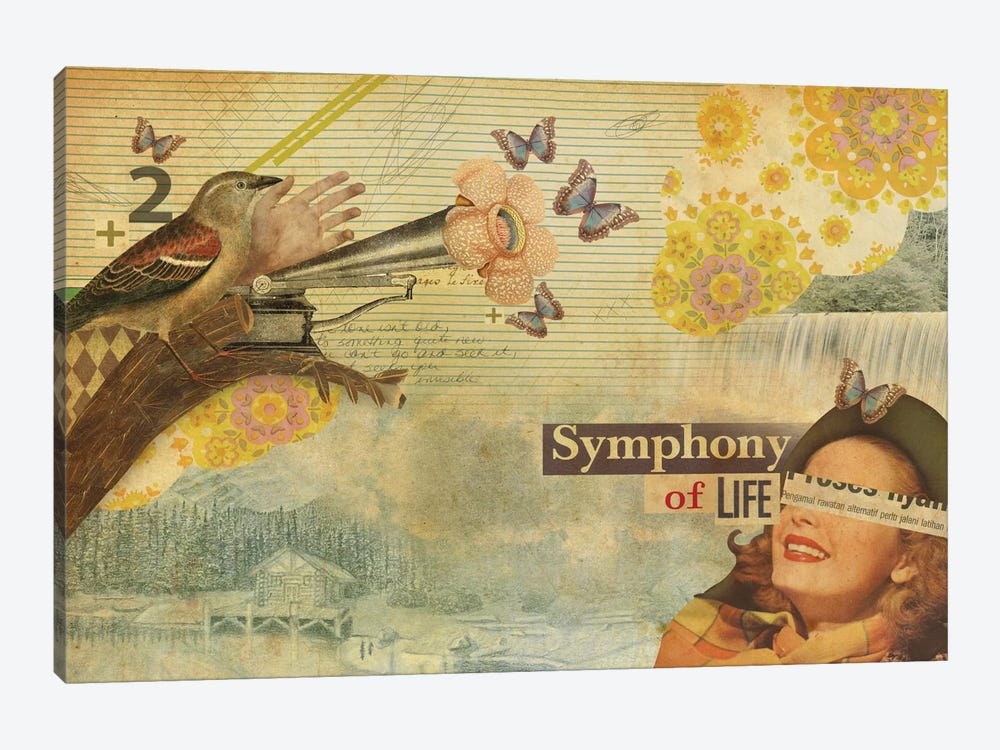 Symphony Of Life by Marcel Lisboa 1-piece Art Print