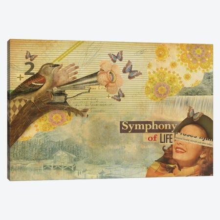 Symphony Of Life Canvas Print #MLA22} by Marcel Lisboa Canvas Art Print