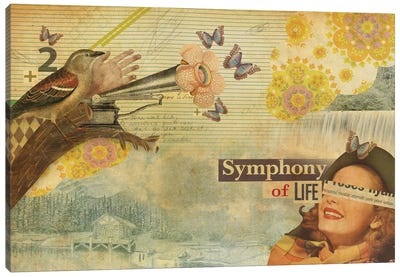 Symphony Of Life Canvas Art Print