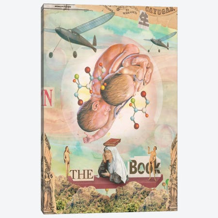 The Book Canvas Print #MLA23} by Marcel Lisboa Canvas Art Print