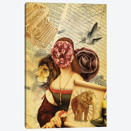 The Unknown Tragedy Canvas Print #MLA24} by Marcel Lisboa Canvas Wall Art