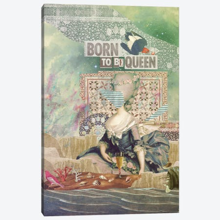 Born To Be Queen Canvas Print #MLA28} by Marcel Lisboa Art Print