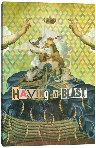 Having A Blast Canvas Art Print