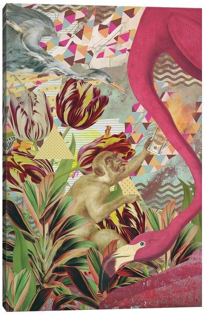 Intrinsic Orbit Canvas Art Print