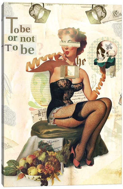 To Be Or Not To Be Canvas Art Print
