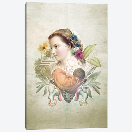 Mother's Day Canvas Print #MLA9} by Marcel Lisboa Canvas Print
