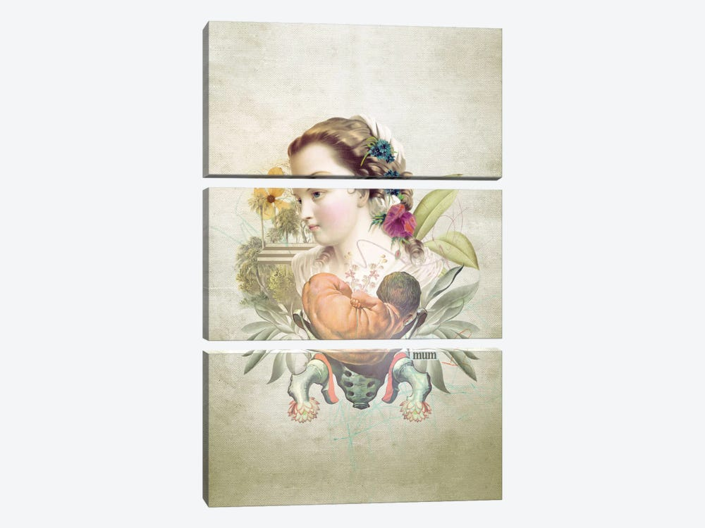 Mother's Day by Marcel Lisboa 3-piece Canvas Wall Art