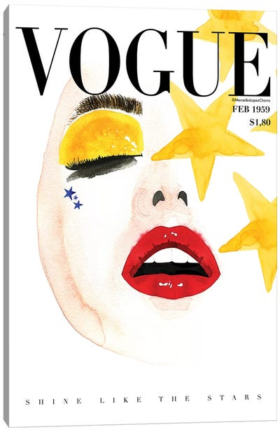 Vogue Shine Canvas Art Print