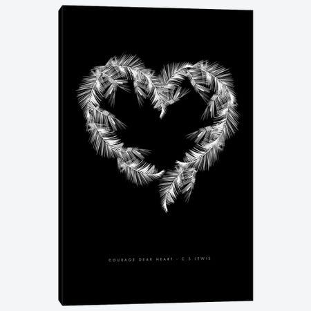 Black Palms Canvas Print #MLC10} by Mercedes Lopez Charro Canvas Art