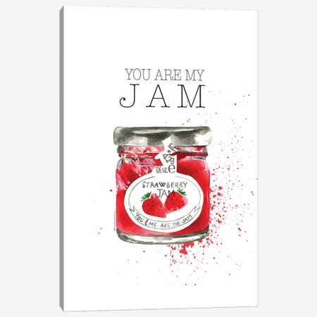 You Are My Jam Canvas Print #MLC111} by Mercedes Lopez Charro Canvas Artwork