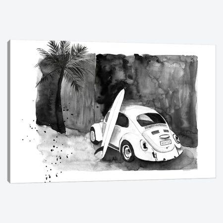 Surf Beetle Canvas Print #MLC112} by Mercedes Lopez Charro Canvas Art