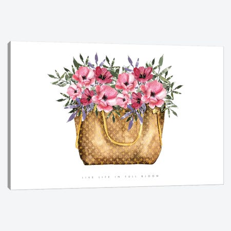 Life In Full Bloom Canvas Print #MLC113} by Mercedes Lopez Charro Canvas Wall Art
