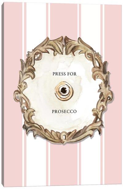 Press For Prosecco Canvas Art Print