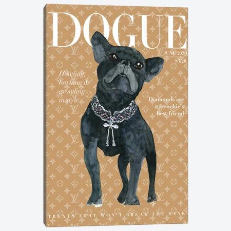 Dogue Canvas Print #MLC138} by Mercedes Lopez Charro Canvas Artwork